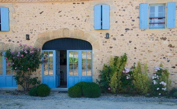 Mooie franse kleuren..Vakantiehuizen Aquitaine-Dordogne Dordogne Monpazier