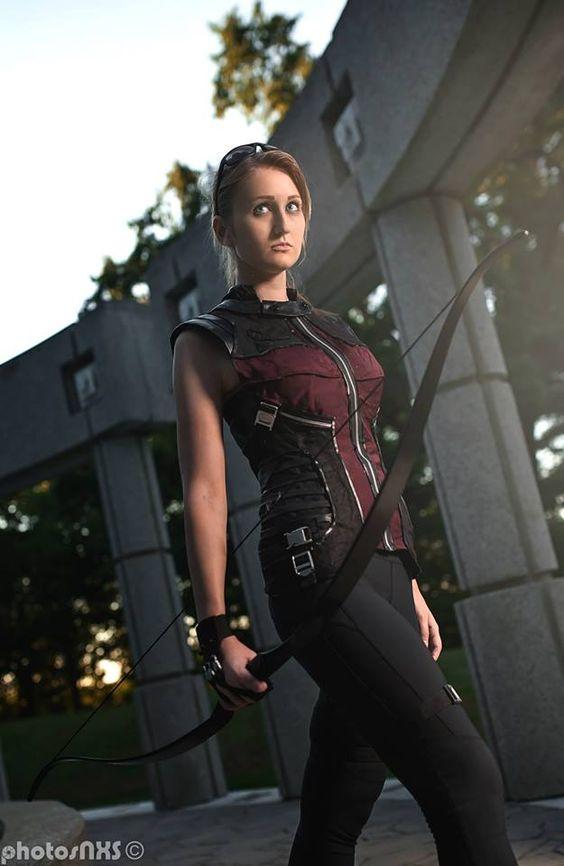 Cosplay: Avengers Genderbent Hawkeye  Cosplayer: N/M Cosplay