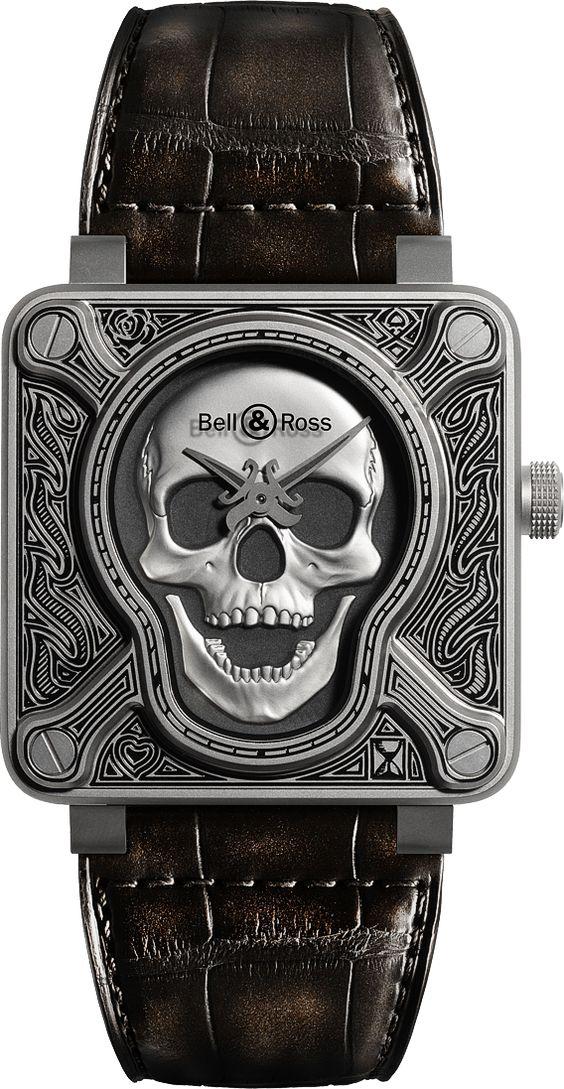 La Cote des Montres : La Kallistos Stelios Karalis || LUXURY Connoisseur ||montre Bell & Ross BR 01 Burning Skull - La montre…