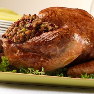 the chew | Recipe | Campbell's Turkey With Cranberry Pecan Stuffing
