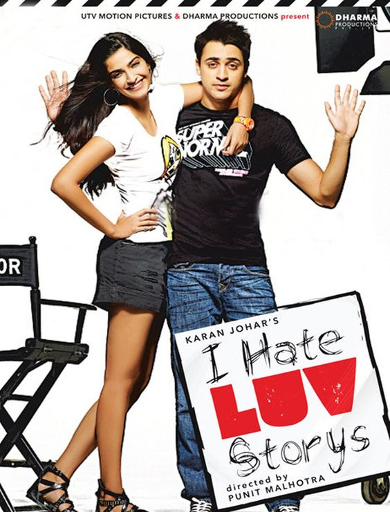 I Hate Luv Storys - Directed by Punit Malhotra.  The more Bollywood movies you have watched, the more you will get the jokes. =)