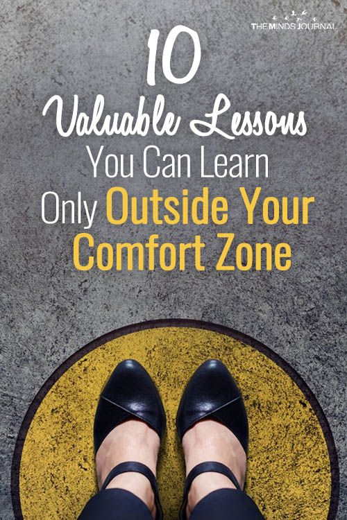 Step Into The Uncomfort Zone Lessons To Learn Outside Comfort