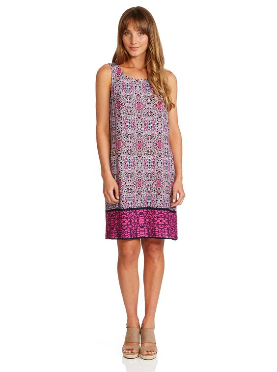 Image for Sleeveless Shift Dress from Just Jeans