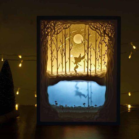 Papercut Light Boxes Blog Free Papercut Light Boxes Templates Light Box Diy Shadow Box Art 3d Shadow Box