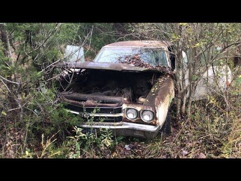 Abandonded Mystery 1970 Chevelle Ss454 Ls6 Was Driven Into The Woods And Deserted Youtube 1970 Chevelle Chevelle Chevelle Car