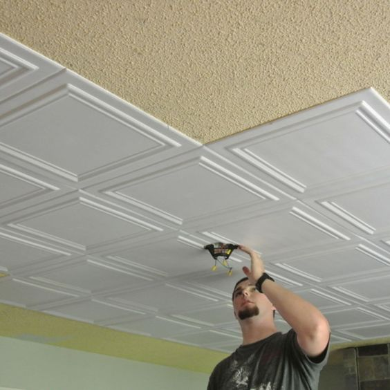 how to get rid of popcorn ceilings and walls