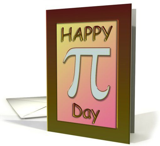 Anniversary on Pi Day March 14 card (693671)