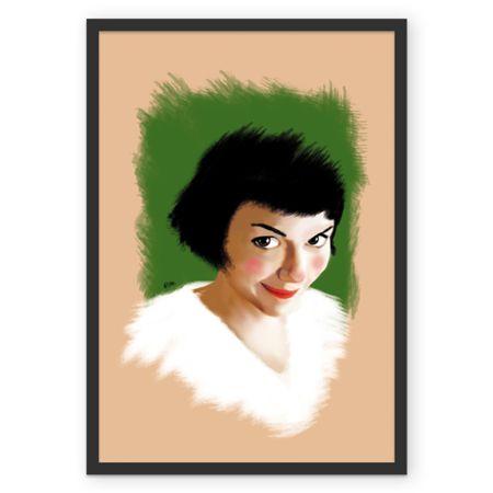 Poster Amélie Poulain de @rodias   Colab55
