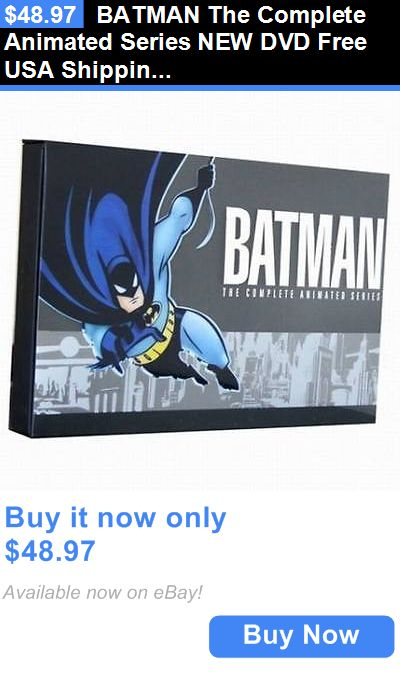 cds dvds vhs: Batman The Complete Animated Series New Dvd Free Usa Shipping BUY IT NOW ONLY: $48.97