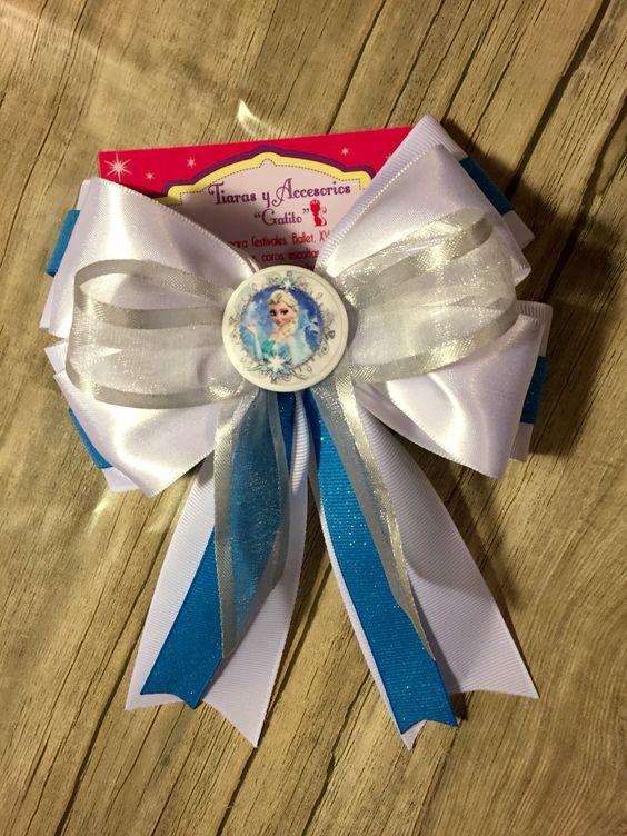 Moño Frozen bow Ribbon