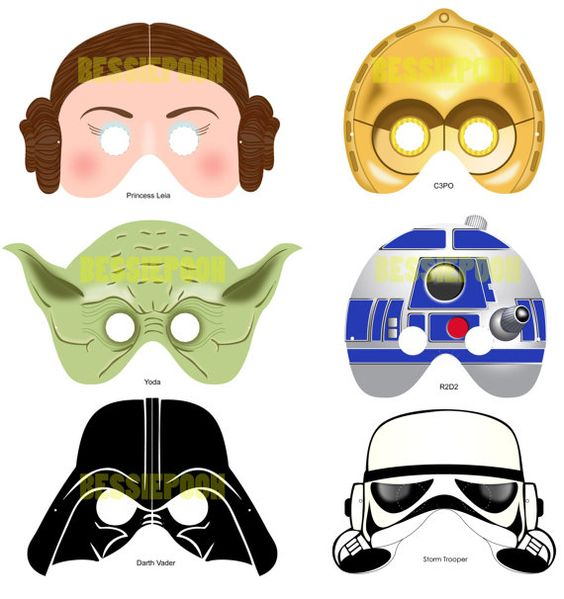 how to make a star wars mask