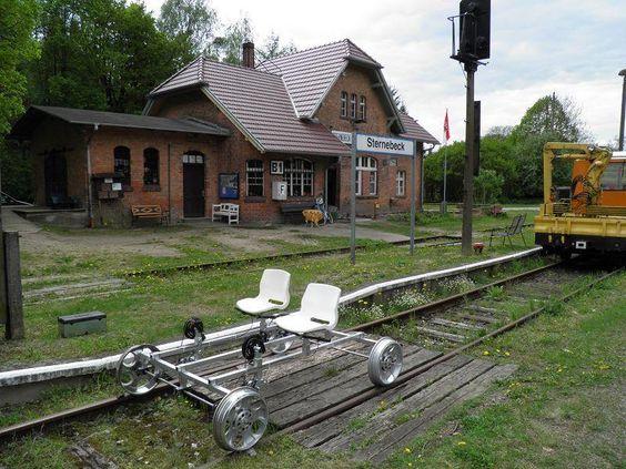 Der Museumseisenbahnverein Sternebeck e.V. gründete sich 2003 nach Stilllegung…