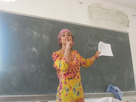 Karena Wienands volunteer teacher.  Teach nursing at the Edna Adan University Hospital in Somaliland