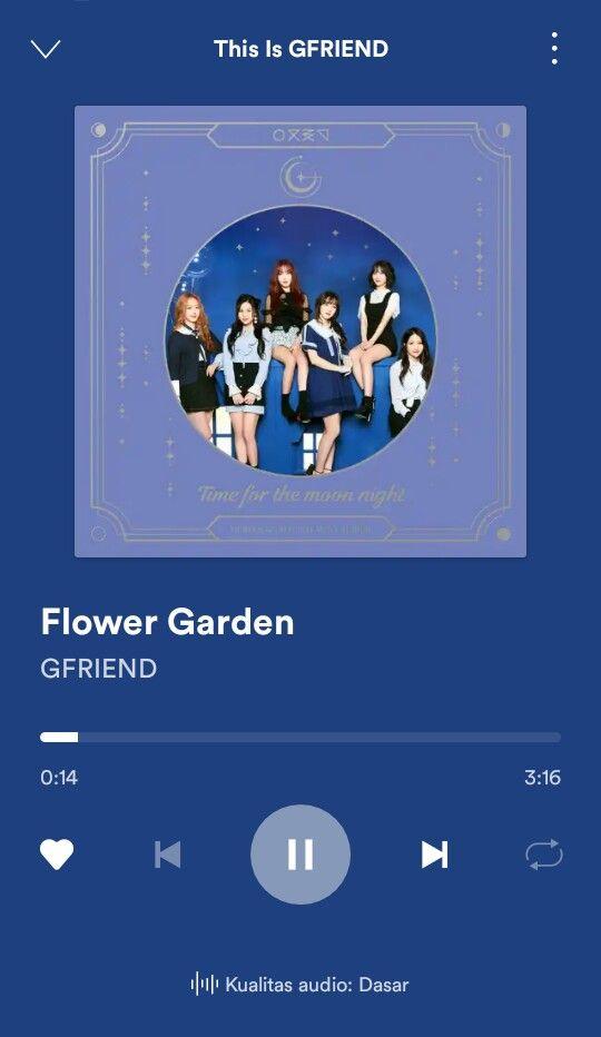 Gfriend Flower Garden Di 2020 Lagu Gambar