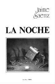 Portada de La Noche - Jaime Saenz