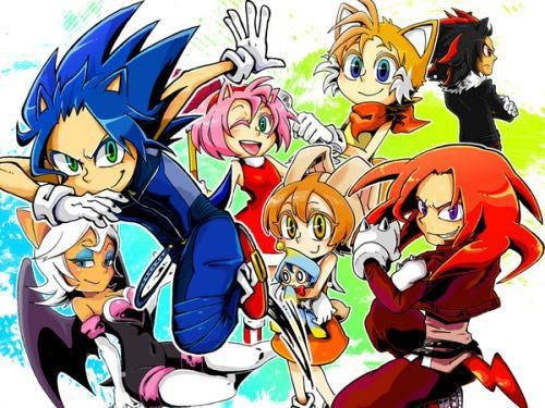 Image Result For Sonic The Hedgehog Human Characters Sonic Sonic The Hedgehog Sonic Fan Characters