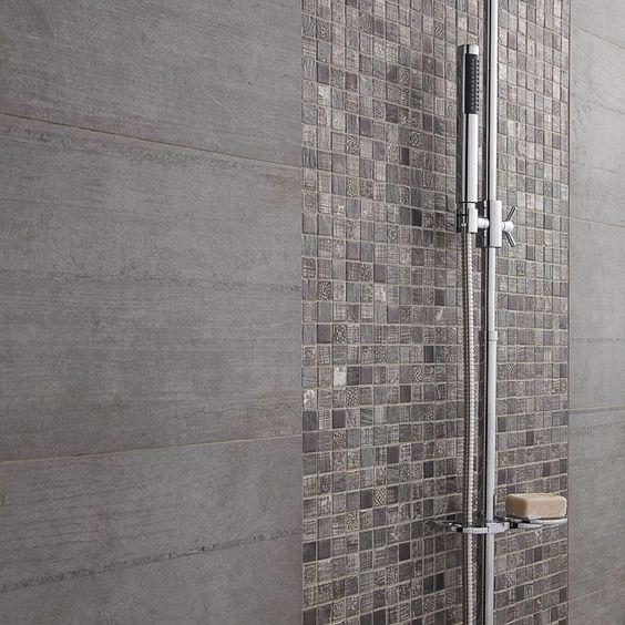 D tail douche l 39 italienne mosa que de salle de bain for Mosaique salle de bain italienne