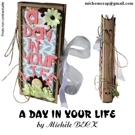 Mini-Album {A DAY IN YOUR LIFE}