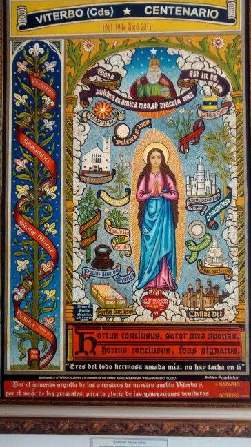 Virgen, escudo