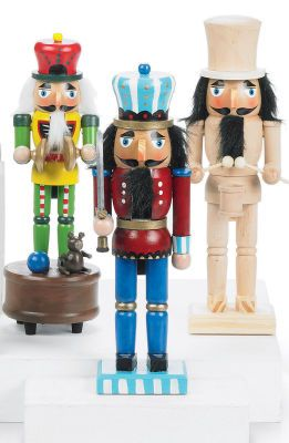 I love painting nutcrackers for family and friends to match their style!