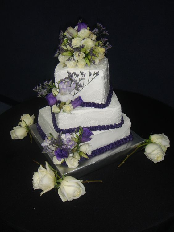 A wedding cake I made