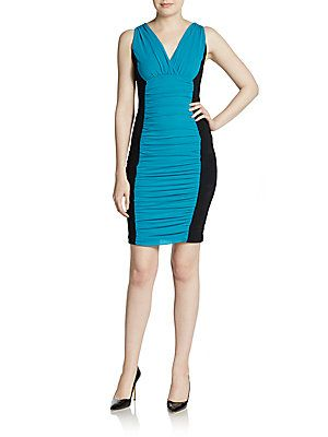 Ruched Body-Con Dress