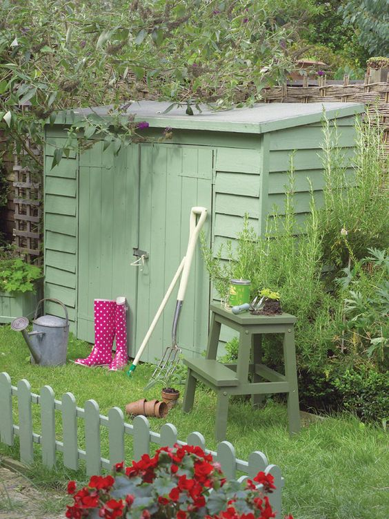 Storage or Tool Box - Charming Outdoor Storage and Structures on HGTV