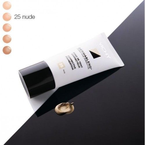 DERMABLEND Fond de Teint Correcteur - 25 Nude   Recommended by make-up artist Lisa Eldridge in combination with Dermablend Setting Powder