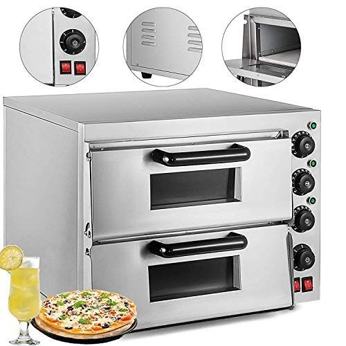 Vevor Commercial Pizza Oven Stainless Steel Pizza Oven Countertop