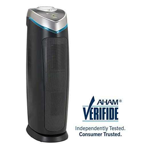 Germguardian Ac4825 22 3 In 1 Full Room Air Purifier True Hepa Filter Uvc Sanitizer Home Air Clea Filter Air Purifier Hepa Filter Air Purifier Air Purifier