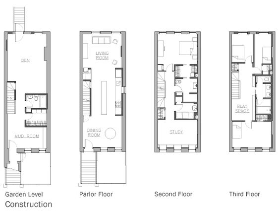Pinterest the world s catalog of ideas for Brownstone townhouse plans