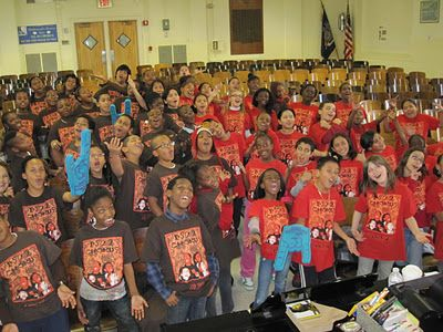 PS 22 Chorus - What a joyful group of kids!
