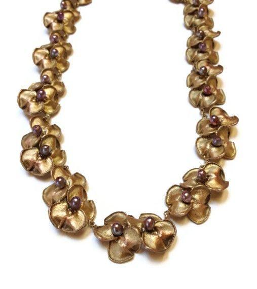 Silver Seasons - Michael Michaud - Purple Hyacinth Necklace