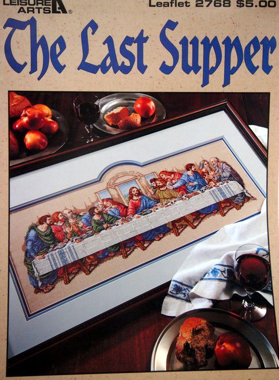 The Last Supper By Sandy Orton Cross Stitch Pattern by NeedANeedle