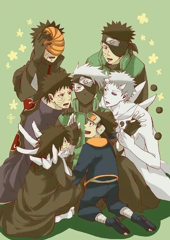 Kakashi and Obitos   Naruto Shippuden   Pinterest   Kakashi