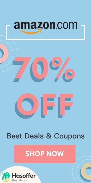 hasoffer Amazon 70% OFF Coupons Deals