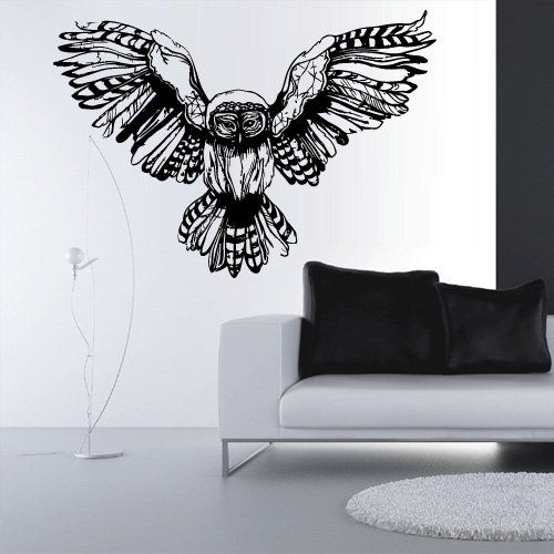 Wall Decal Vinyl Sticker Decals Feathers Like Paintings Sketch Owl Z3117 StickersForLife http://www.amazon.com/dp/B00NY08P1Y/ref=cm_sw_r_pi_dp_697fvb0BGTC3K