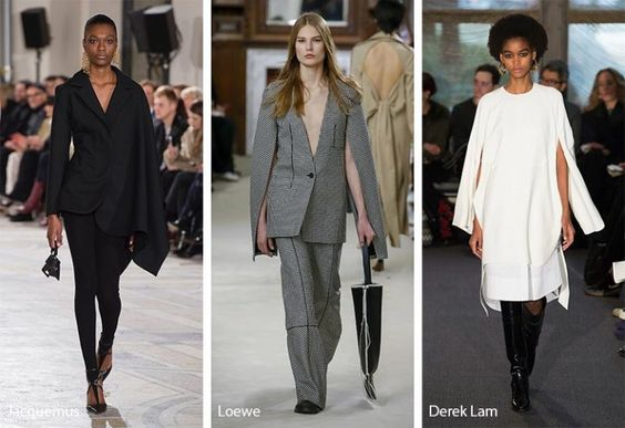 Fall/ Winter 2018-2019 Fashion Trends: Cape Sleeves