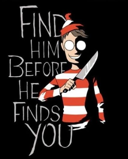 creepy...now i understand why we must find him....