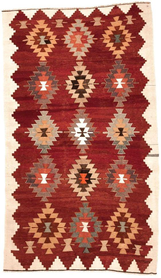 Vintage Teppich Original Cal