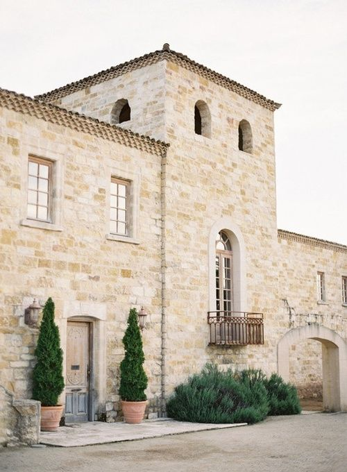 Best French farmhouse exterior! #frenchfarmhouse #exterior #limestone #frenchcountry