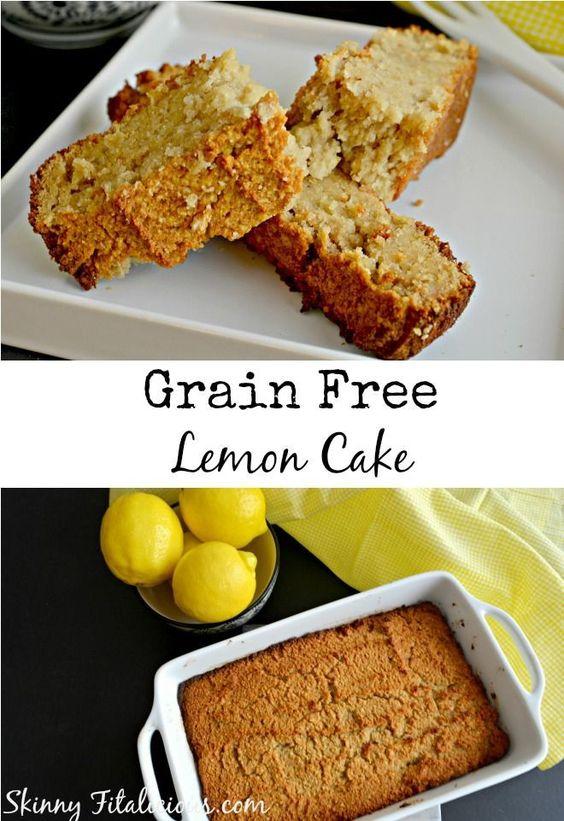 Grain Free Lemon Cake {Paleo, GF}