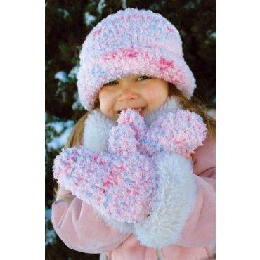Knitting Patterns Childrens Hats Mittens : Free pattern, Children hats and Children on Pinterest