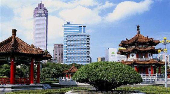 Cidade de Taipé, em Taiwan.