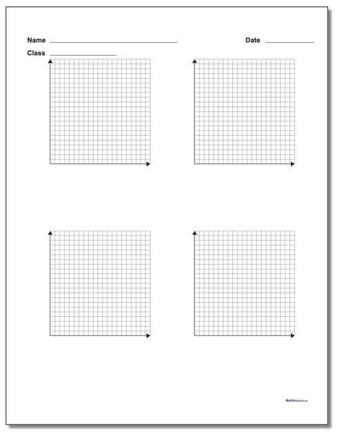 Printable Coordinate Plane Coordinate Plane Coordinate Grid Math Facts Addition