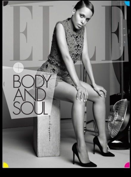 Kerry Washington for ELLE 2013 Cover