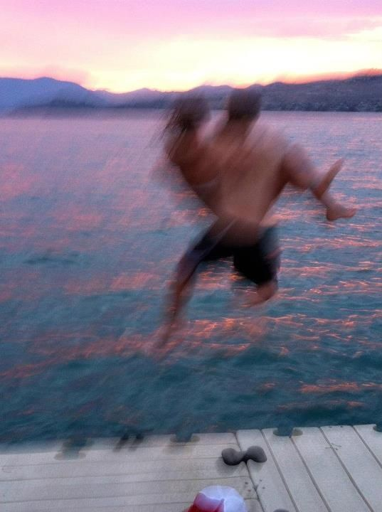 Couple Swimming Tumblr