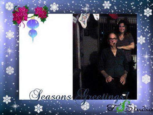 Family Style Christmas Card