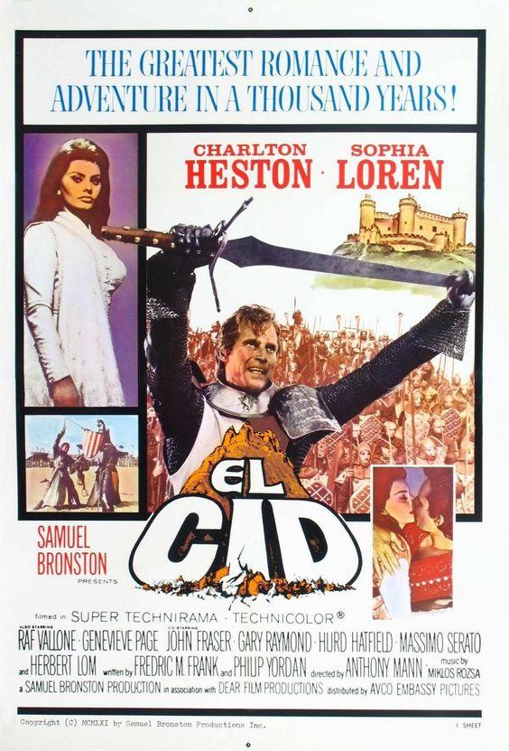 El Cid (1961) HD | clasicofilm / cine on line