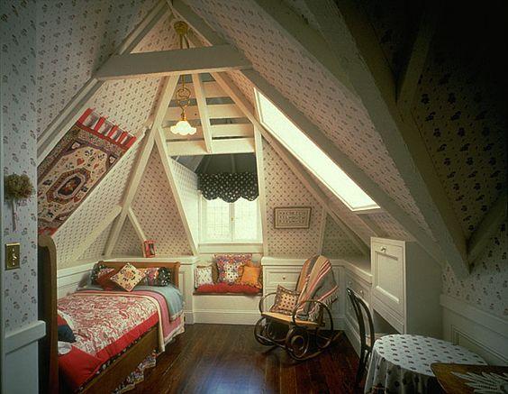 Victorian attic remodel in san francisco rynerson obrien for Attic remodel